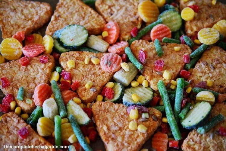 Buy frozen vegetables and fruits