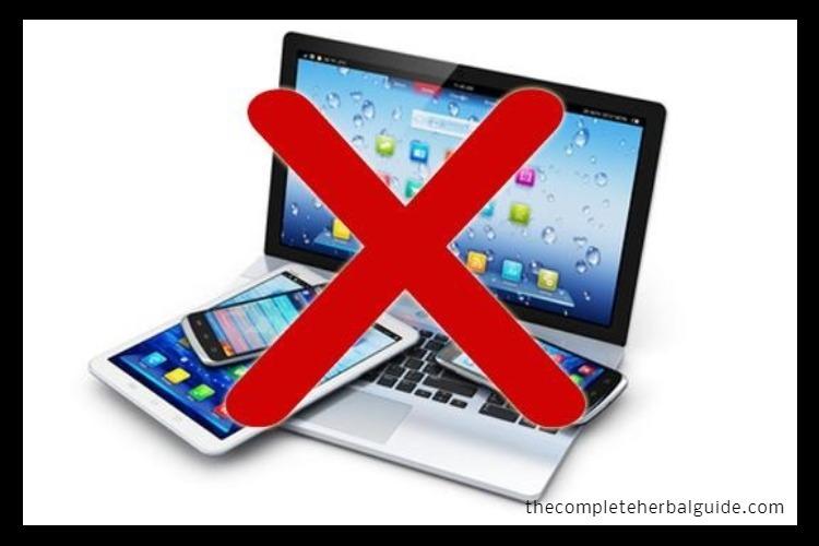 no computer