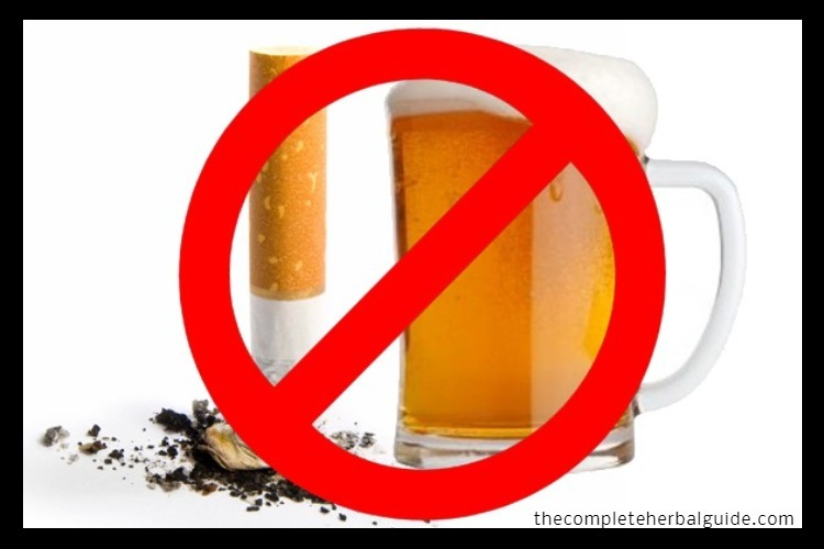no drinking no smoking