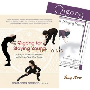 Qigong for Staying Young Book & DVD