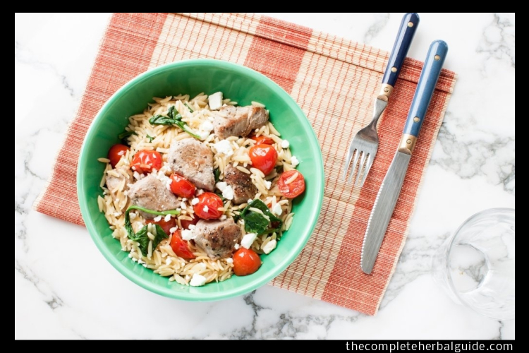 orzo spinach food