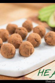 Delicious Chocolate Avocado Truffles