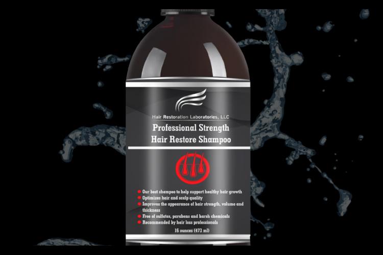 PROFESSIONAL STRENGTH HAIR RESTORE SHAMPOO