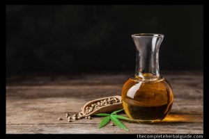Adobe Stock royalty-free image #288322670, 'Composition with hemp oil on wooden table. Space for text' uploaded by New Africa, standard license purchased from https://stock.adobe.com/images/download/288322670; file retrieved on October 13th, 2019. License details available at https://stock.adobe.com/license-terms - image is licensed under the Adobe Stock Standard License