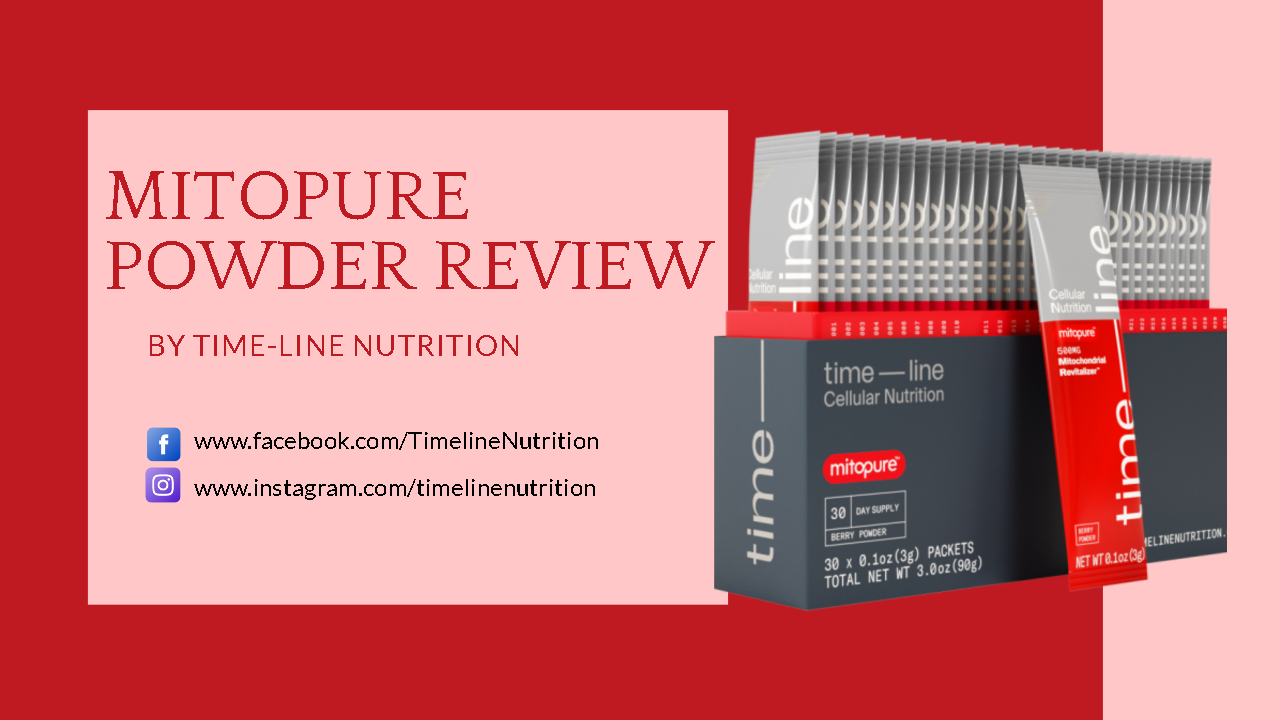 Mitopure Powder Review By Time-Line Nutrition